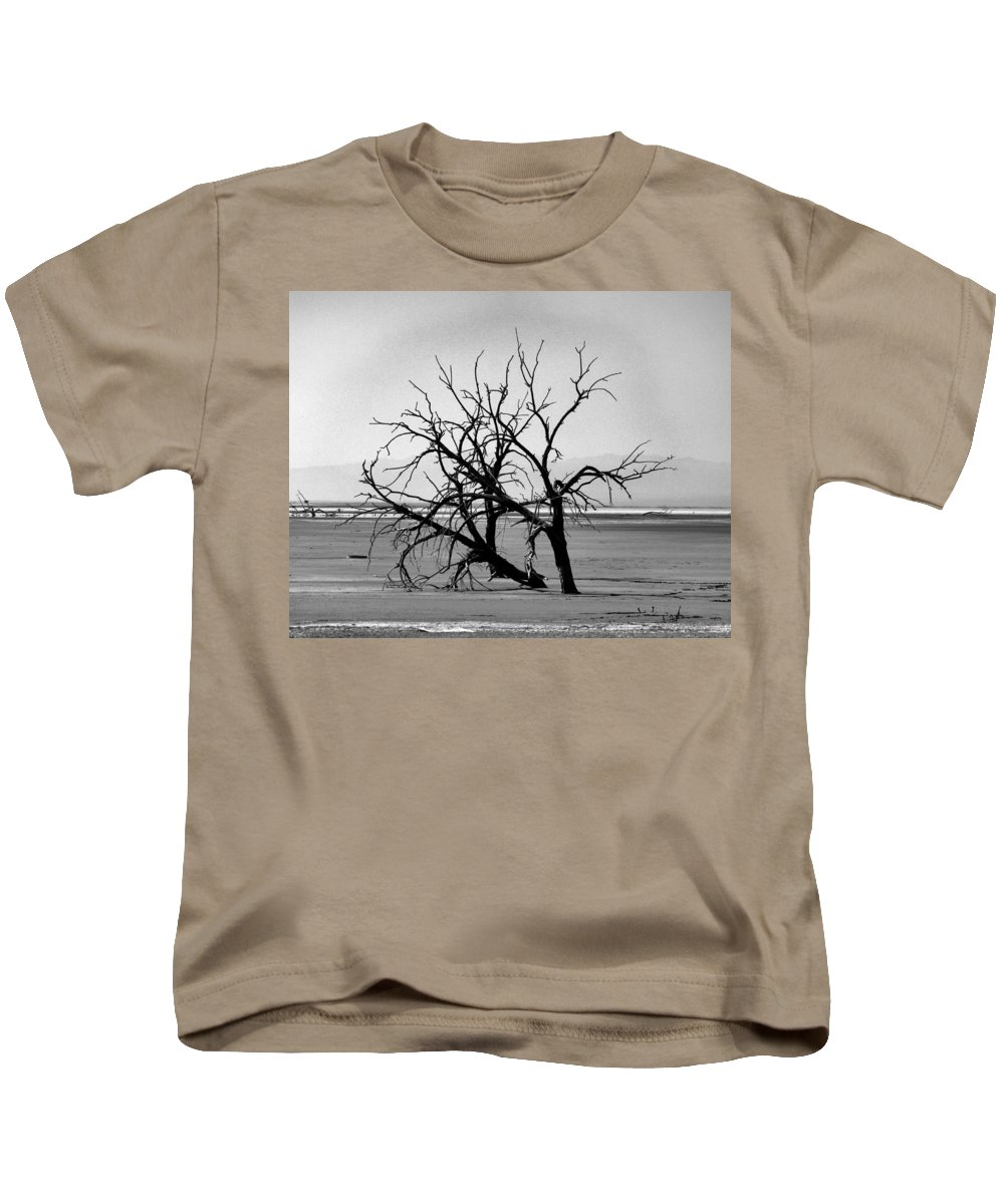 Trees Kids T-Shirt featuring the photograph On The Flats by Patricia Quandel