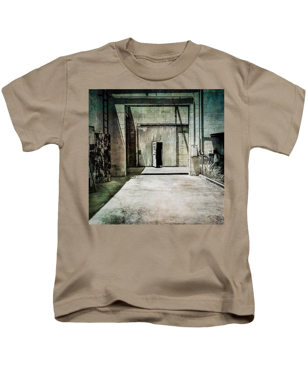 Abandoned Kids T-Shirt featuring the photograph Pacific Airmotive Corp 28 by YoPedro