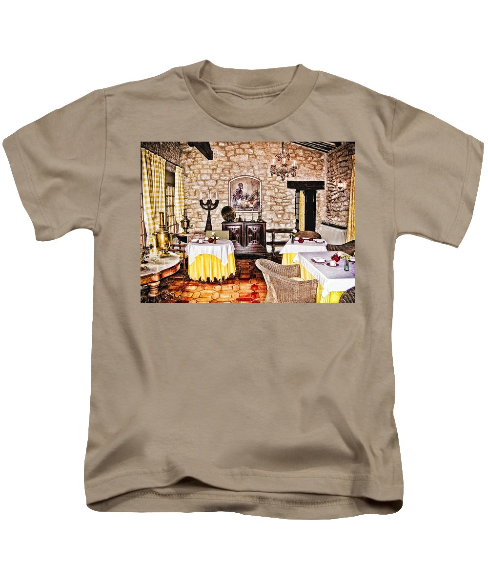 France Kids T-Shirt featuring the photograph Provence Bb by Timothy Hacker
