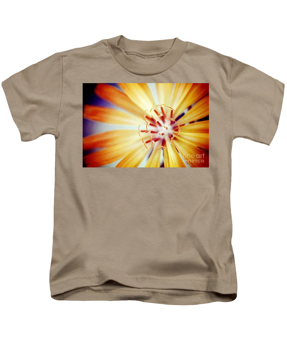 Flower Kids T-Shirt featuring the photograph Rays Of Joy - S01-21at1c by Variance Collections