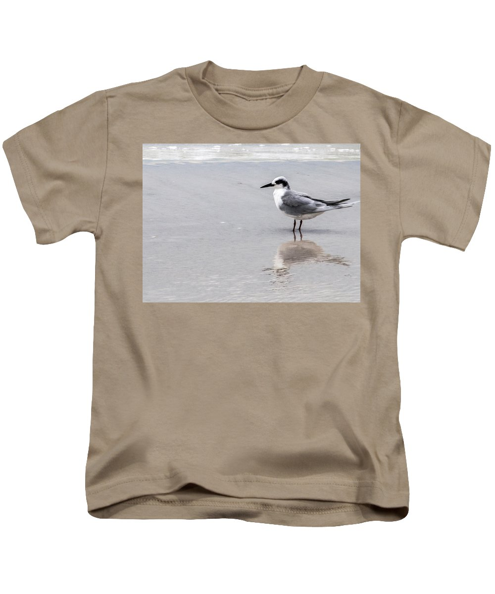 Least Tern Kids T-Shirt featuring the photograph Reflection Of A Tern by Norman Johnson