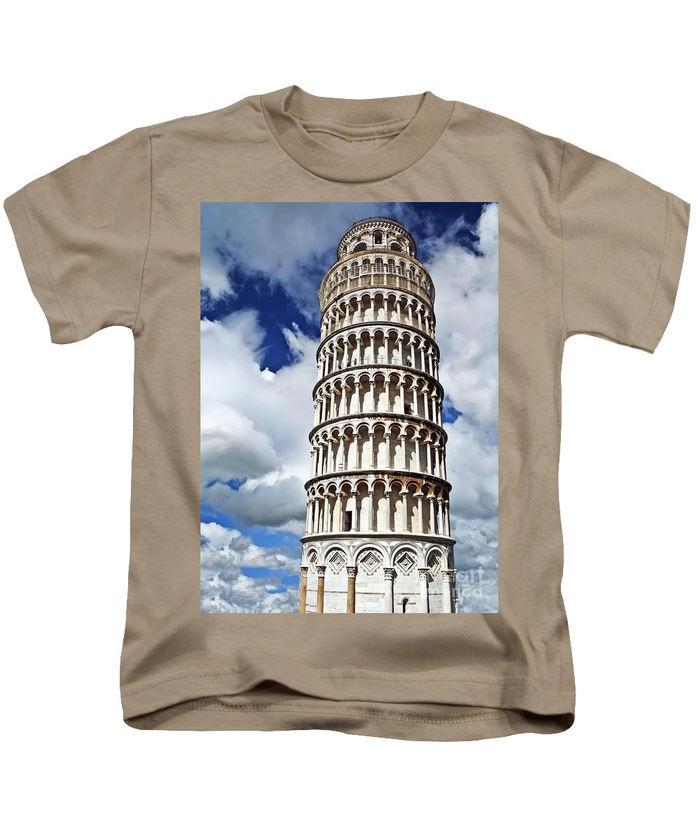 Travel Kids T-Shirt featuring the photograph Rising Into The Tuscany Sky by Elvis Vaughn