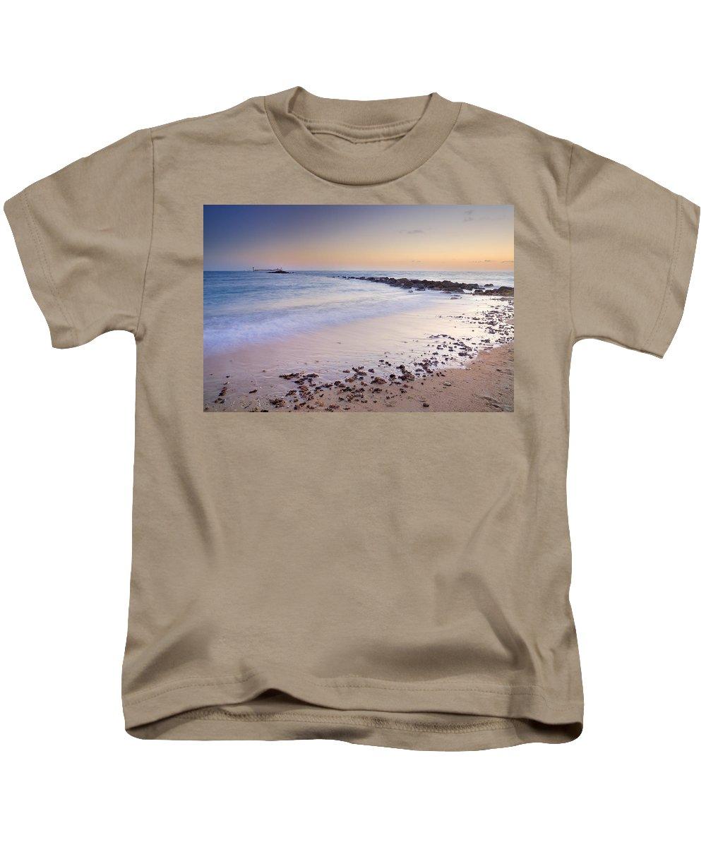 Sancti Petri Kids T-Shirt featuring the photograph Sancti Petri Castle Island by Guido Montanes Castillo