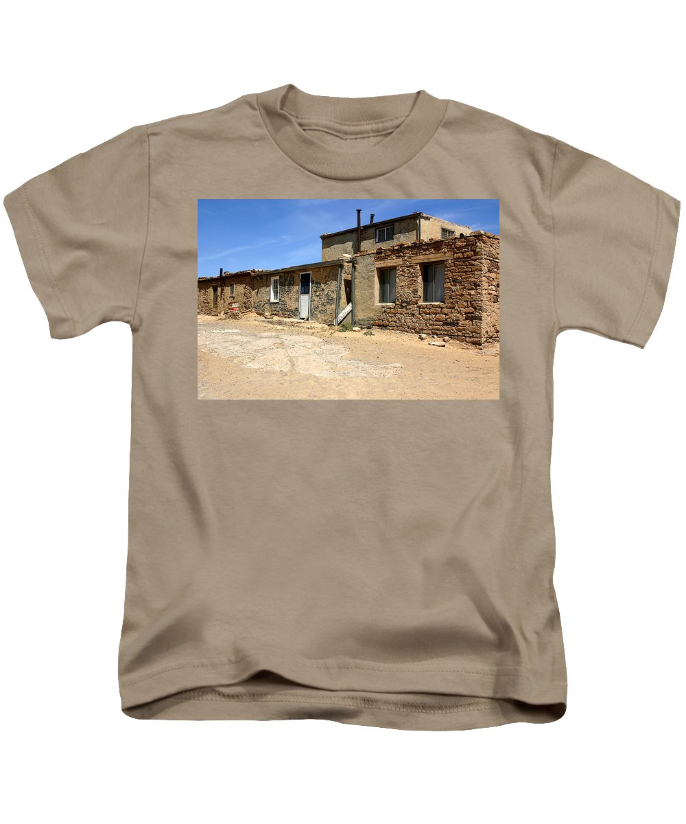Pueblo Kids T-Shirt featuring the photograph Sky House by Joe Kozlowski