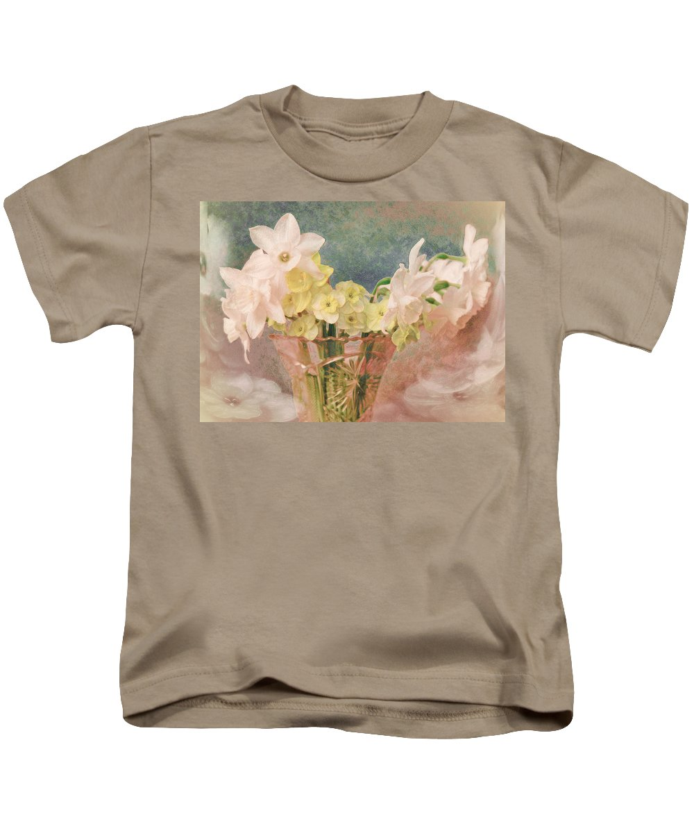 Flowers Kids T-Shirt featuring the photograph Spring Light by John Anderson