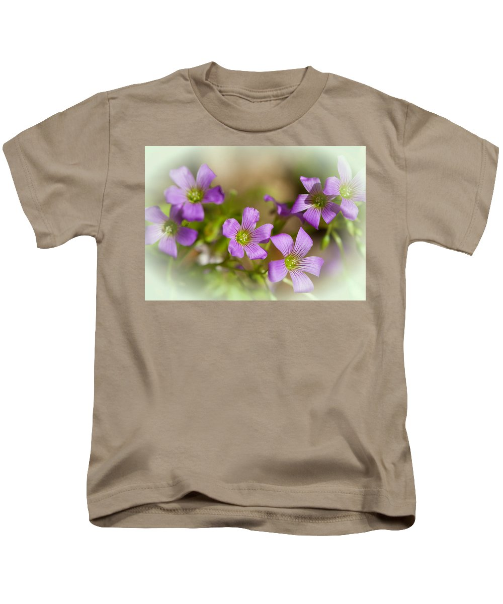 Flower Kids T-Shirt featuring the photograph Spring Wildflowers by Stephen Anderson