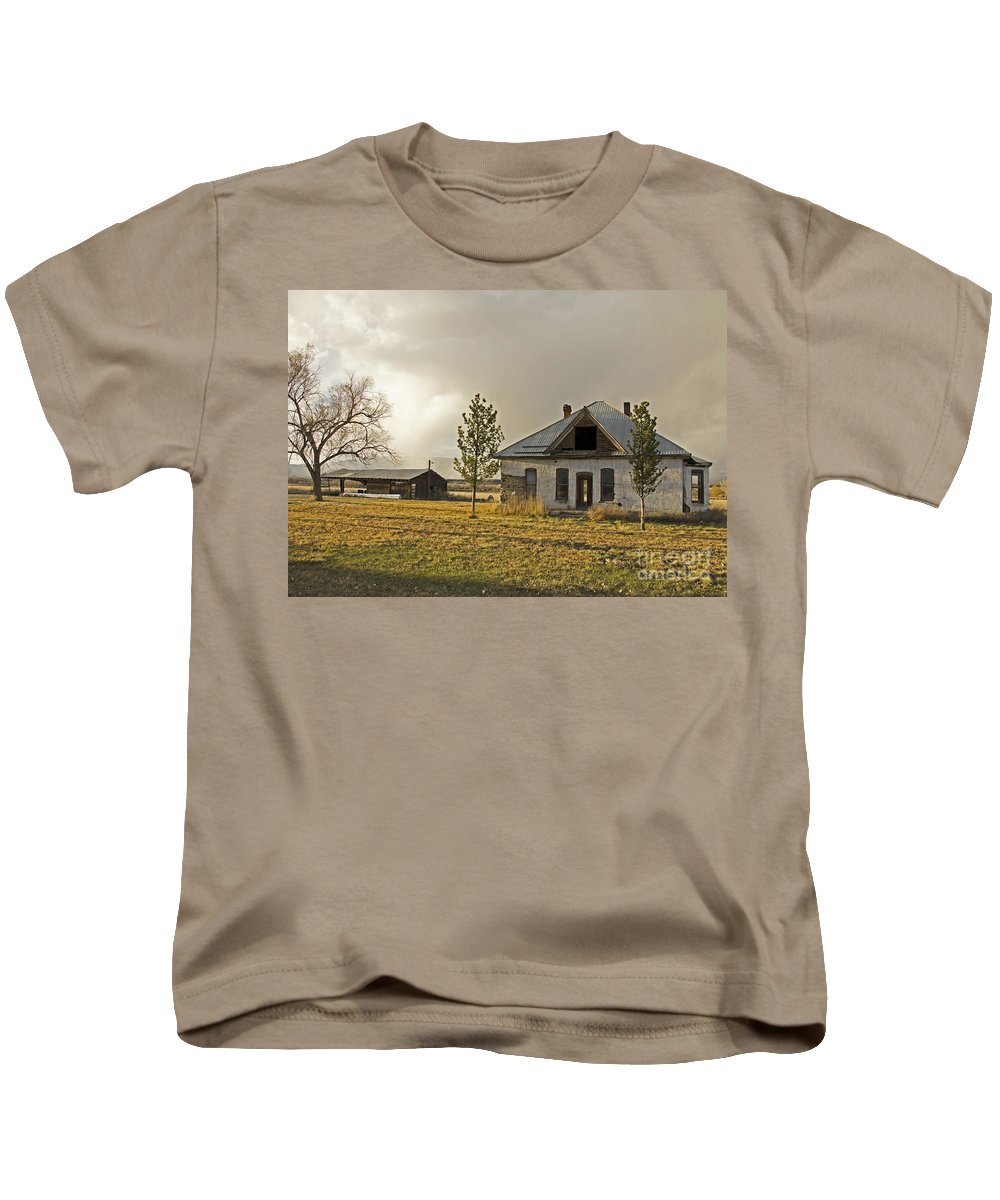 Homestead Kids T-Shirt featuring the photograph Standing Strong by Kelly Black