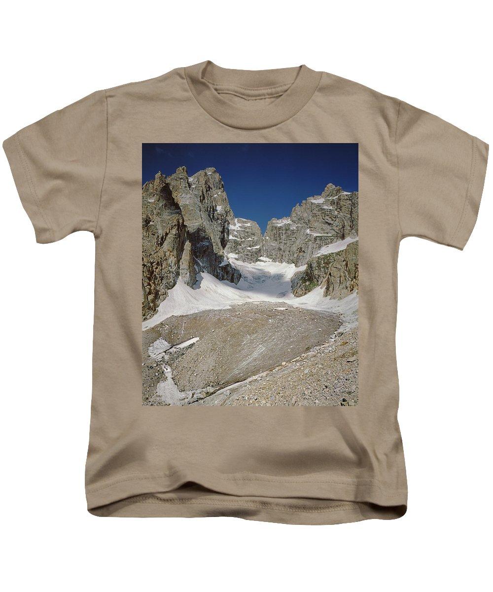 Teton Glacier Kids T-Shirt featuring the photograph 1m9385-teton Glacier by Ed Cooper Photography