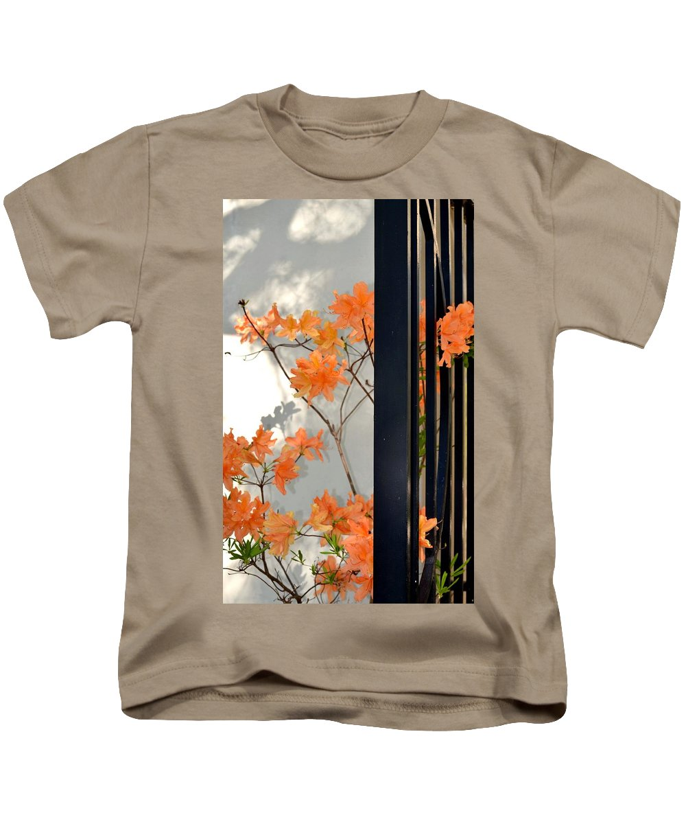 The Gatekeepers Kids T-Shirt featuring the photograph The Gatekeepers by Maria Urso
