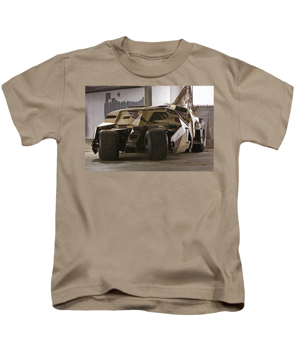 Batman Kids T-Shirt featuring the photograph Tumbler by Shoal Hollingsworth