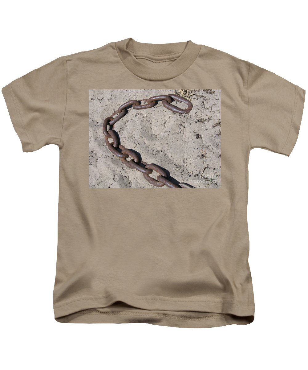 Chain Kids T-Shirt featuring the photograph Unchained by Ann Horn