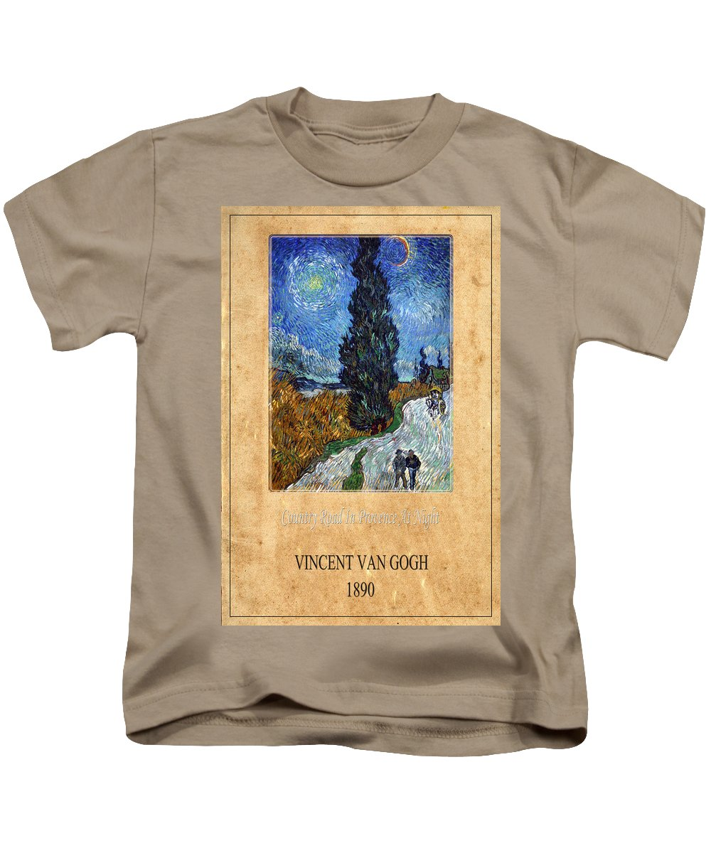 Van Gogh Kids T-Shirt featuring the photograph Vincent Van Gogh 4 by Andrew Fare