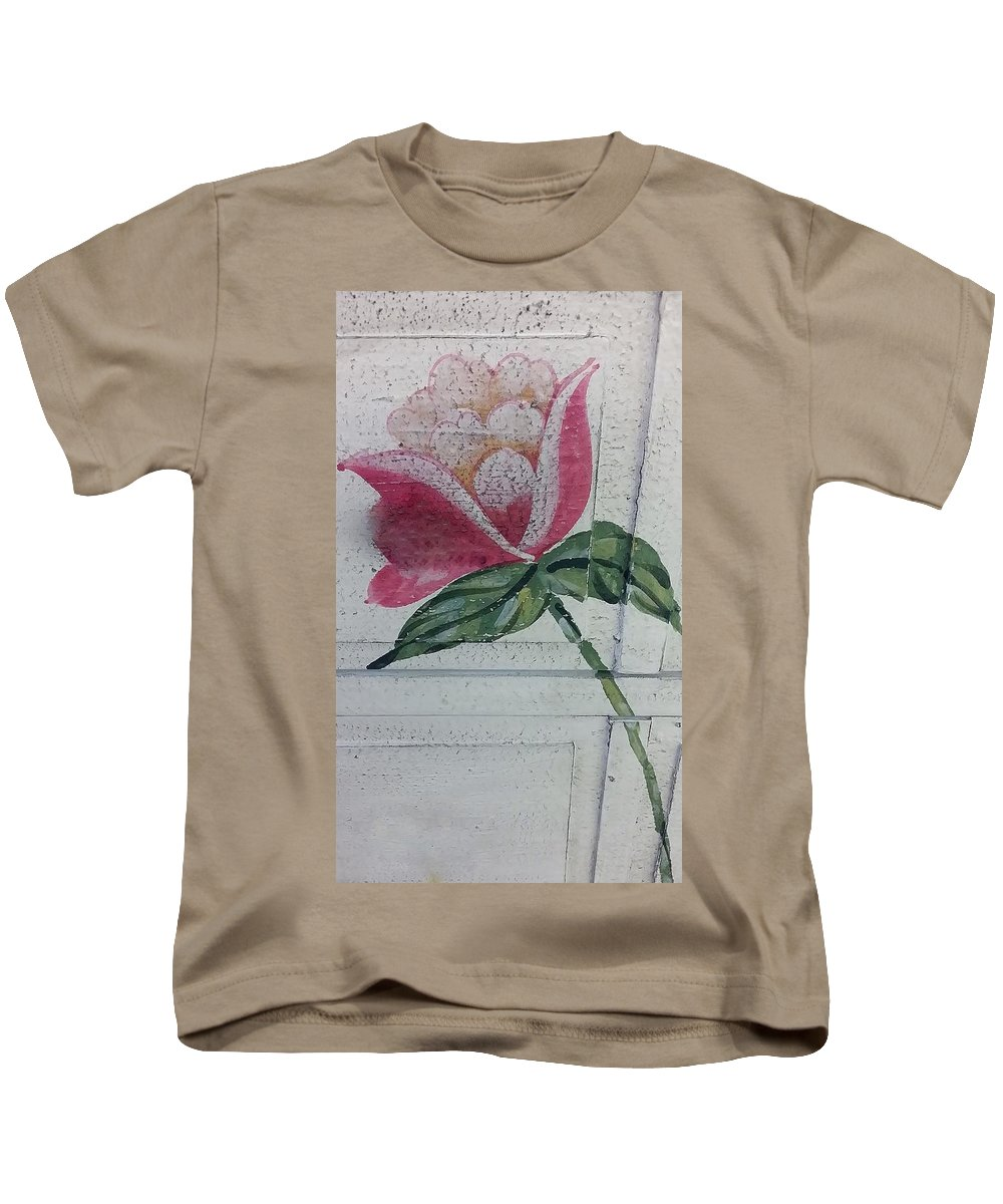 Flowers Kids T-Shirt featuring the photograph Wood Flower by Rob Hans