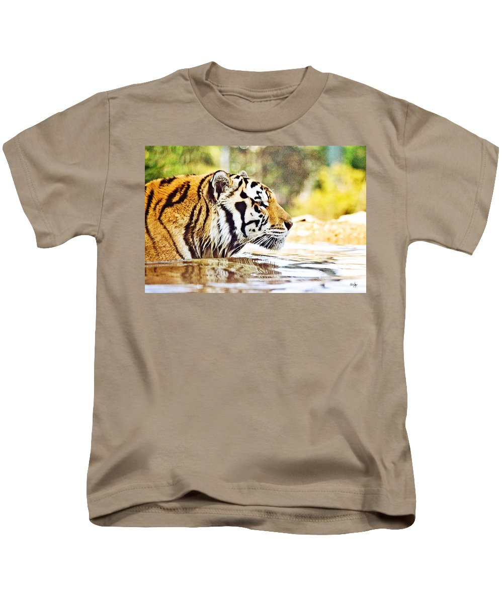 Mike Kids T-Shirt featuring the photograph You're Mine by Scott Pellegrin