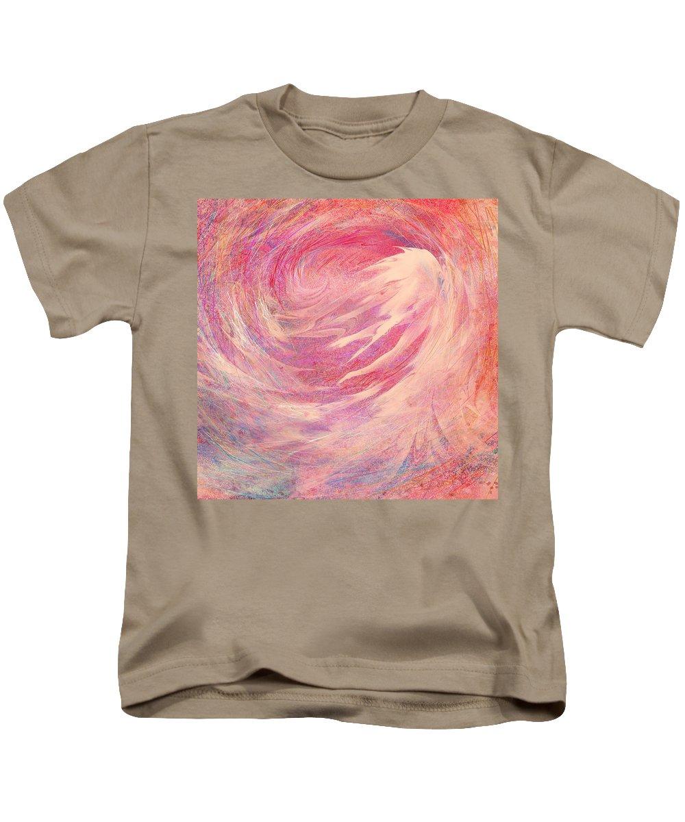 Chosen Kids T-Shirt featuring the painting Chosen by Rachel Christine Nowicki