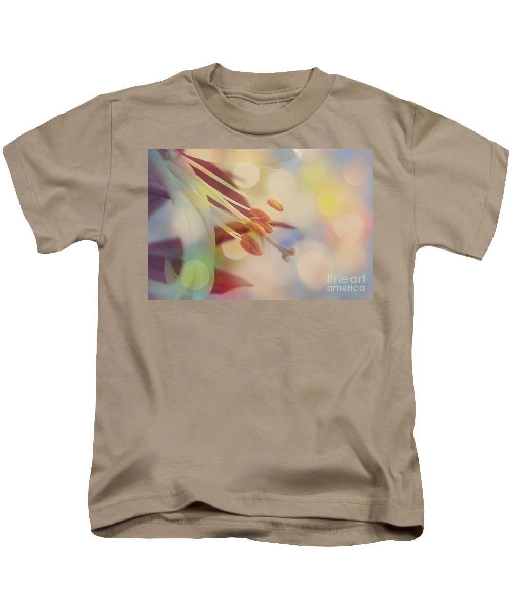 Bokeh Kids T-Shirt featuring the photograph Joyfulness by Aimelle