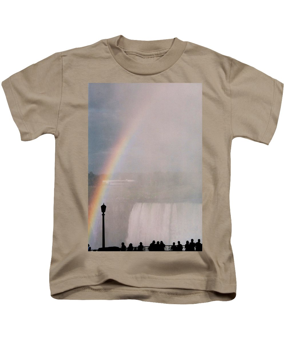 Waterfall Kids T-Shirt featuring the photograph Rainbow Falls by Pharris Art