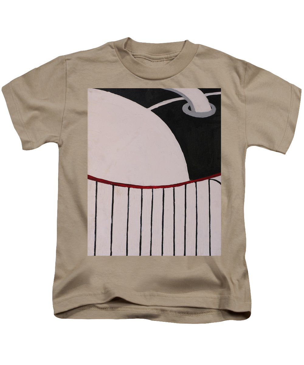 Tennis Shoe Kids T-Shirt featuring the painting Tennis Shoe Toe by One Rude Dawg Orcutt