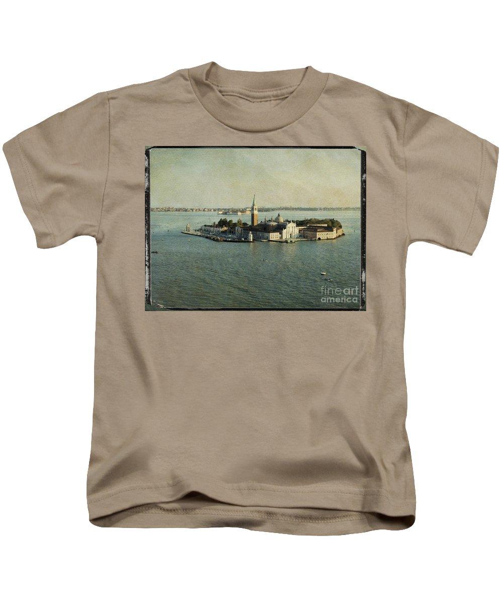 Canal Kids T-Shirt featuring the photograph Venice by Bernard Jaubert