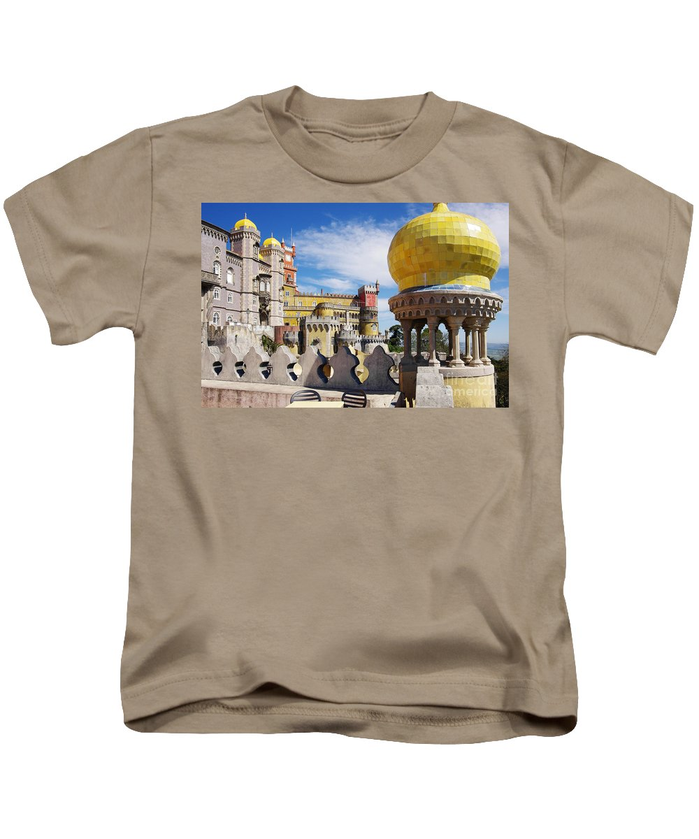 Arabian Kids T-Shirt featuring the photograph Pena Palace by Carlos Caetano