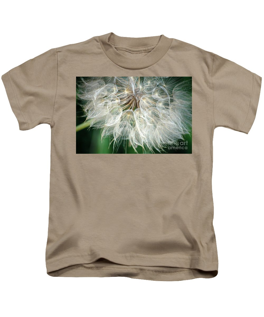 Down Kids T-Shirt featuring the photograph Airy by Anjanette Douglas