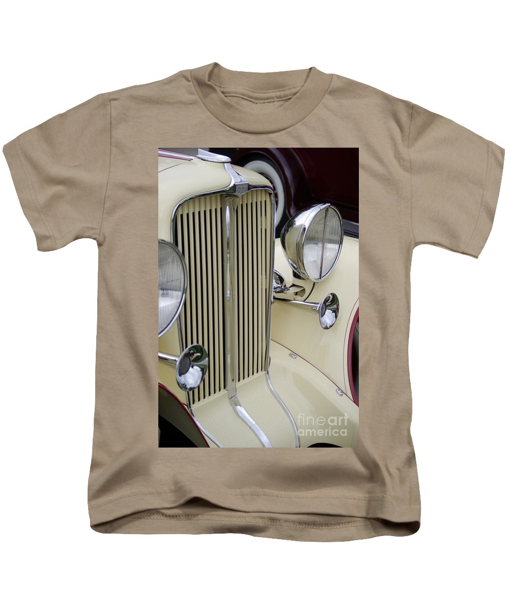 Auburn Kids T-Shirt featuring the photograph Auburn Grill by Jim And Emily Bush