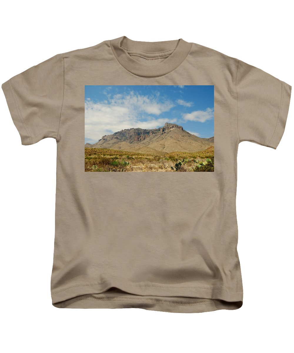 Butte Kids T-Shirt featuring the photograph Big Bend Splendor by Judy Hall-Folde