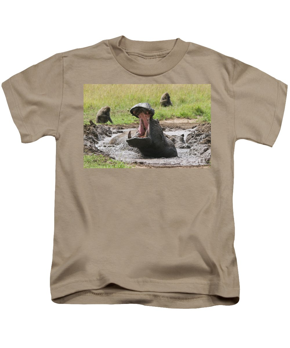 Adult Kids T-Shirt featuring the photograph Big Mouth by Howard Kennedy