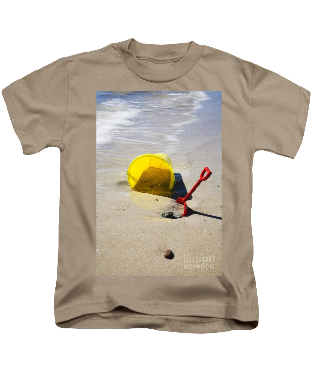 Beach Kids T-Shirt featuring the photograph Childhood Forgotten by Mike Dawson