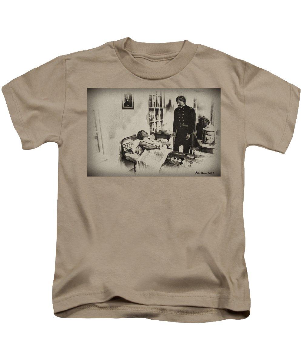 Civil War Kids T-Shirt featuring the photograph Civil War Hospital by Bill Cannon