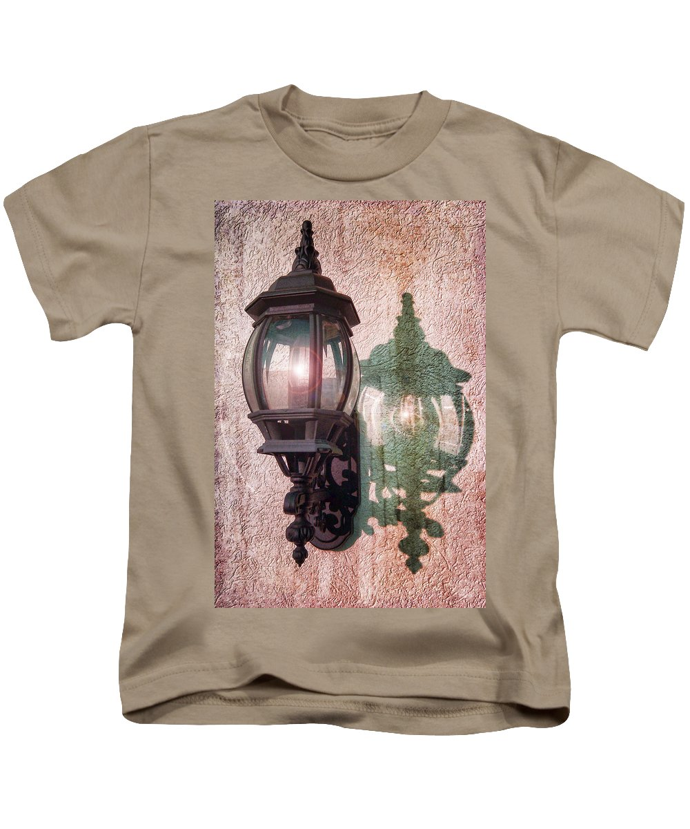 Light Kids T-Shirt featuring the photograph Come To The Light by Kathy Clark