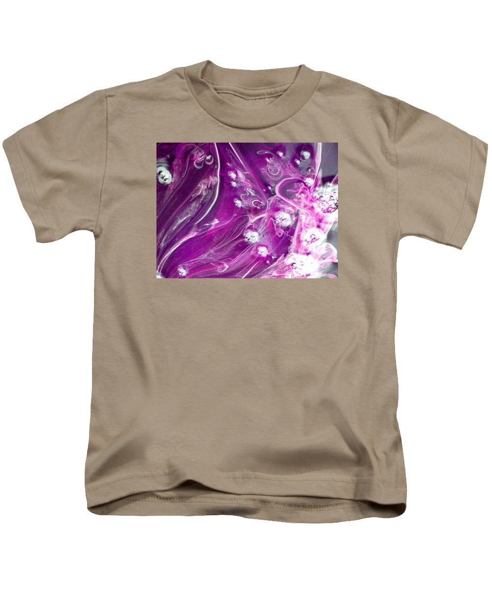 Abstract Kids T-Shirt featuring the photograph Faces In The Midst by Patricia Blake