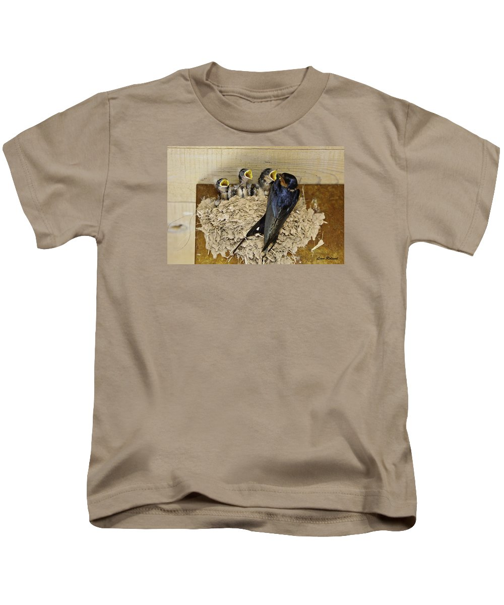 Ghost Ranch Kids T-Shirt featuring the photograph Feed Me First by Leon Roland