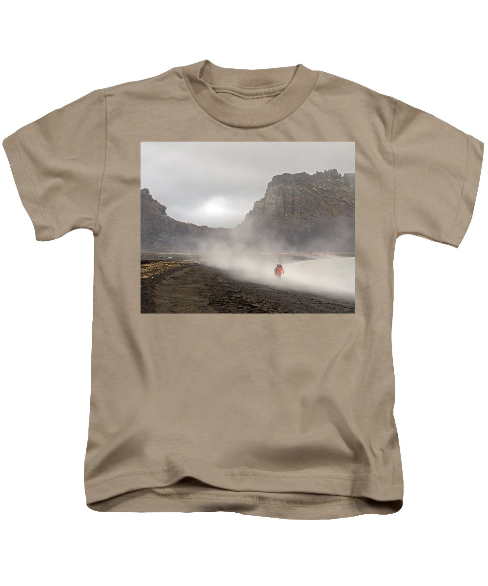 Antarctica Kids T-Shirt featuring the photograph Neptune's Window by Tony Beck