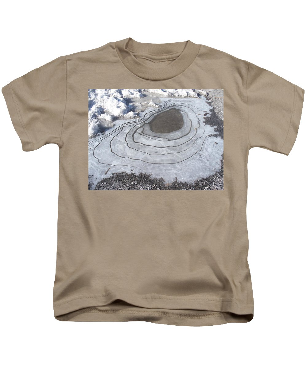 Water Kids T-Shirt featuring the photograph Roadside Waterway by Jonathan Barnes