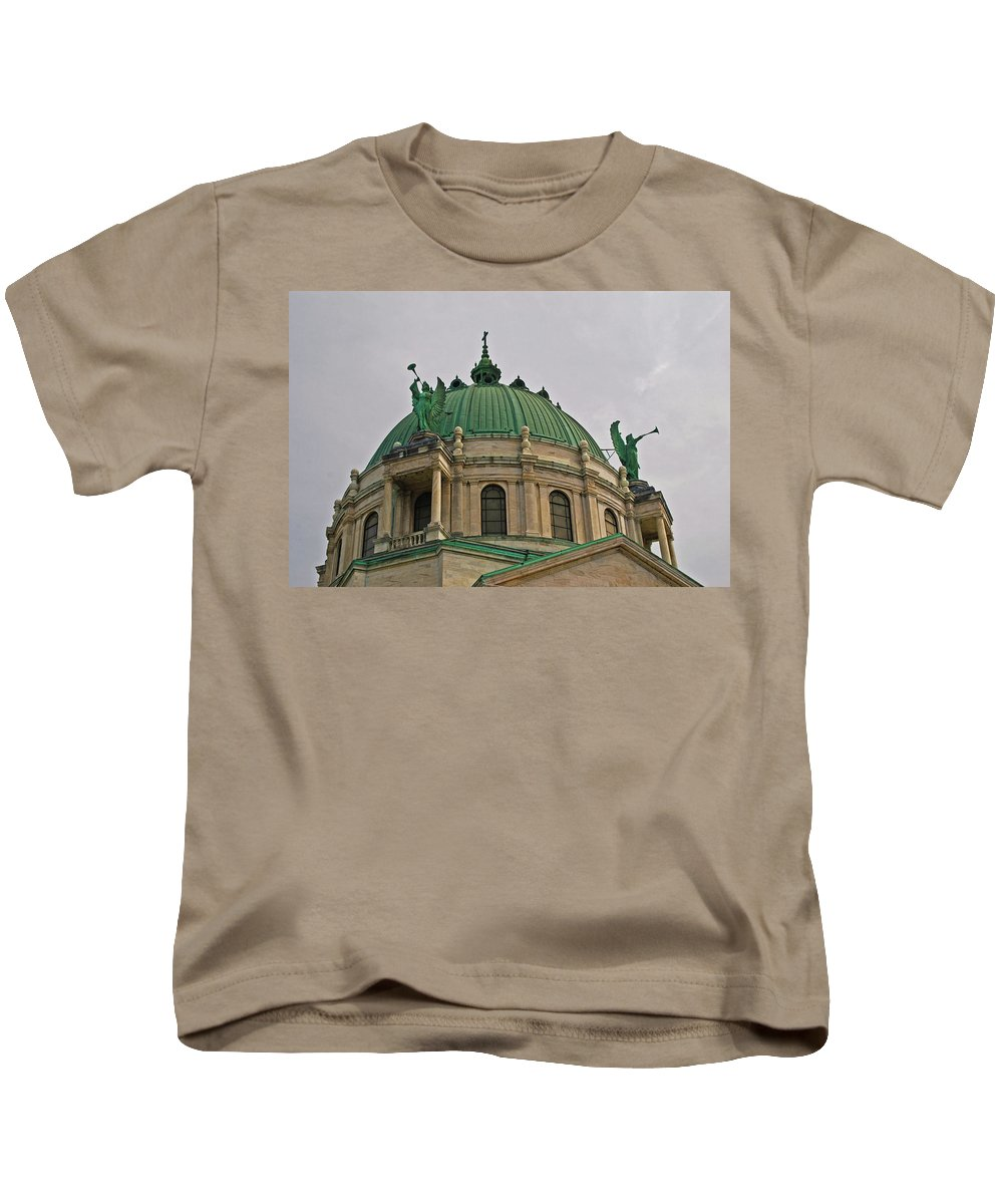 Architecture Kids T-Shirt featuring the photograph The Basillica 6791 by Guy Whiteley