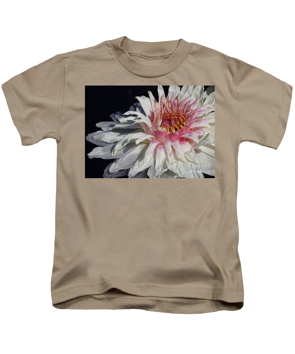 Victoria Water Lily Kids T-Shirt featuring the photograph Victoria Water Lily by Carol Groenen