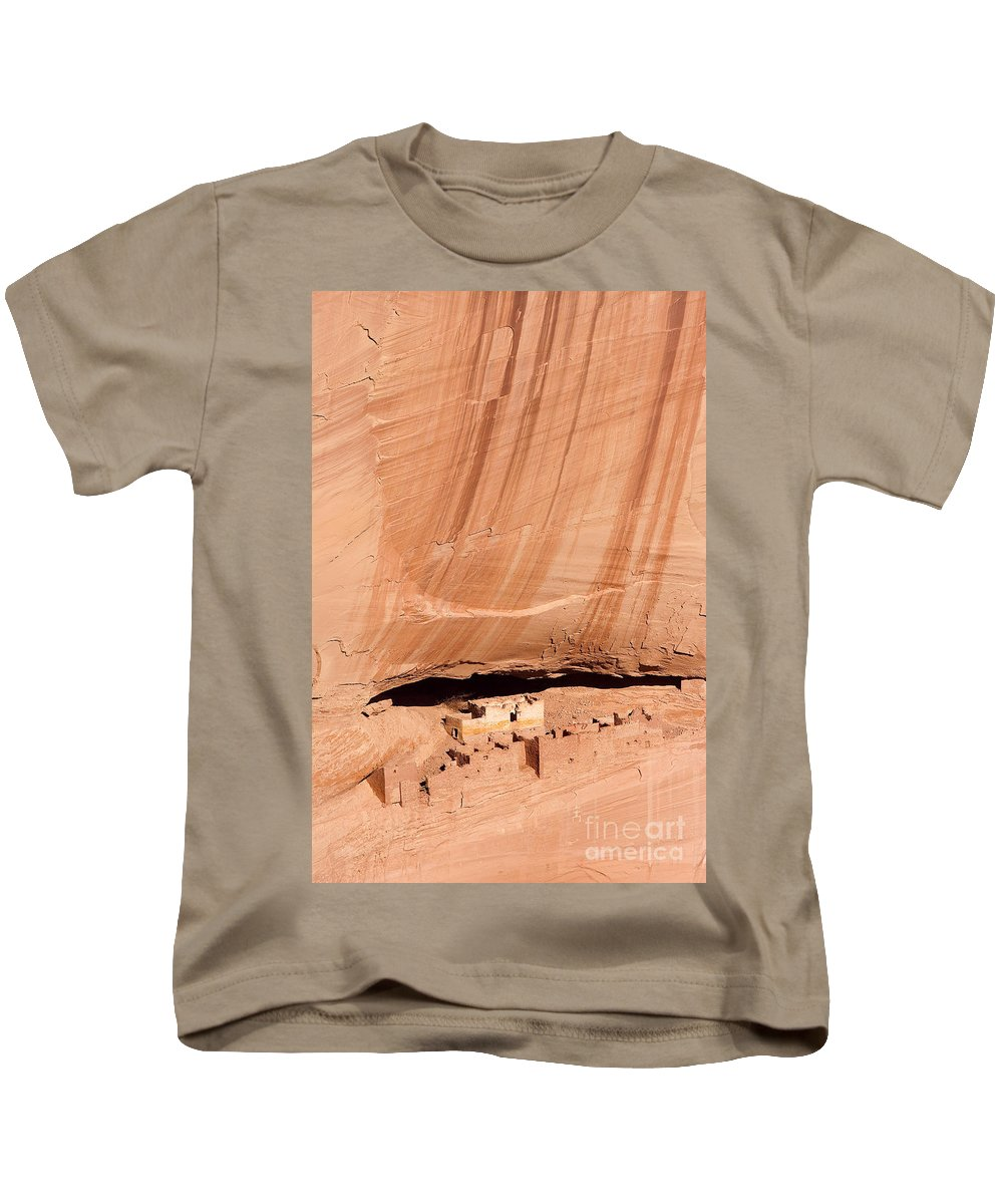 Canyon De Chelly Kids T-Shirt featuring the photograph White House Ruins by Mike Dawson