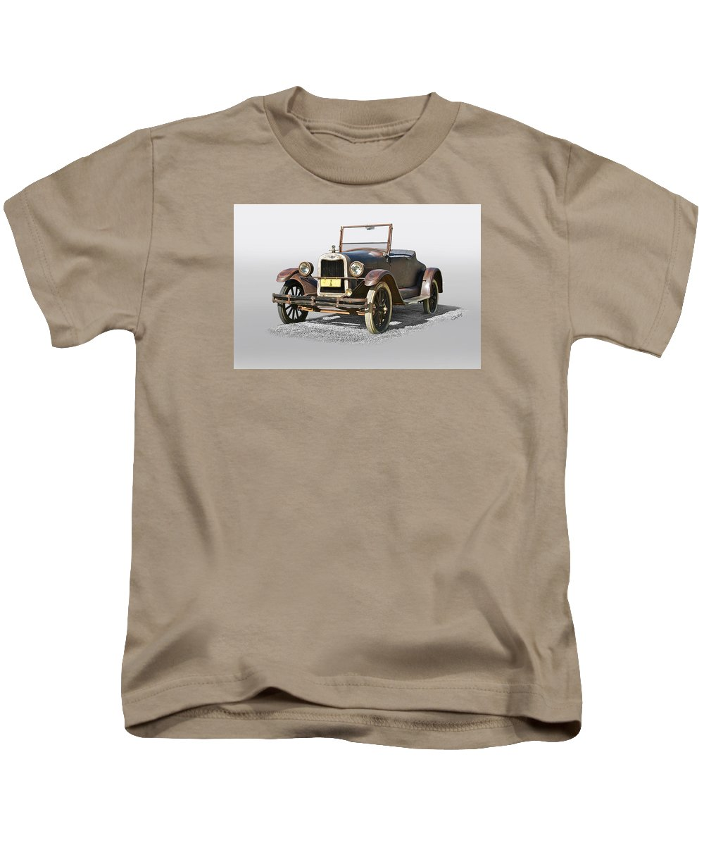 Auto Kids T-Shirt featuring the photograph 1925 Chevrolet Series K Roadster by Dave Koontz