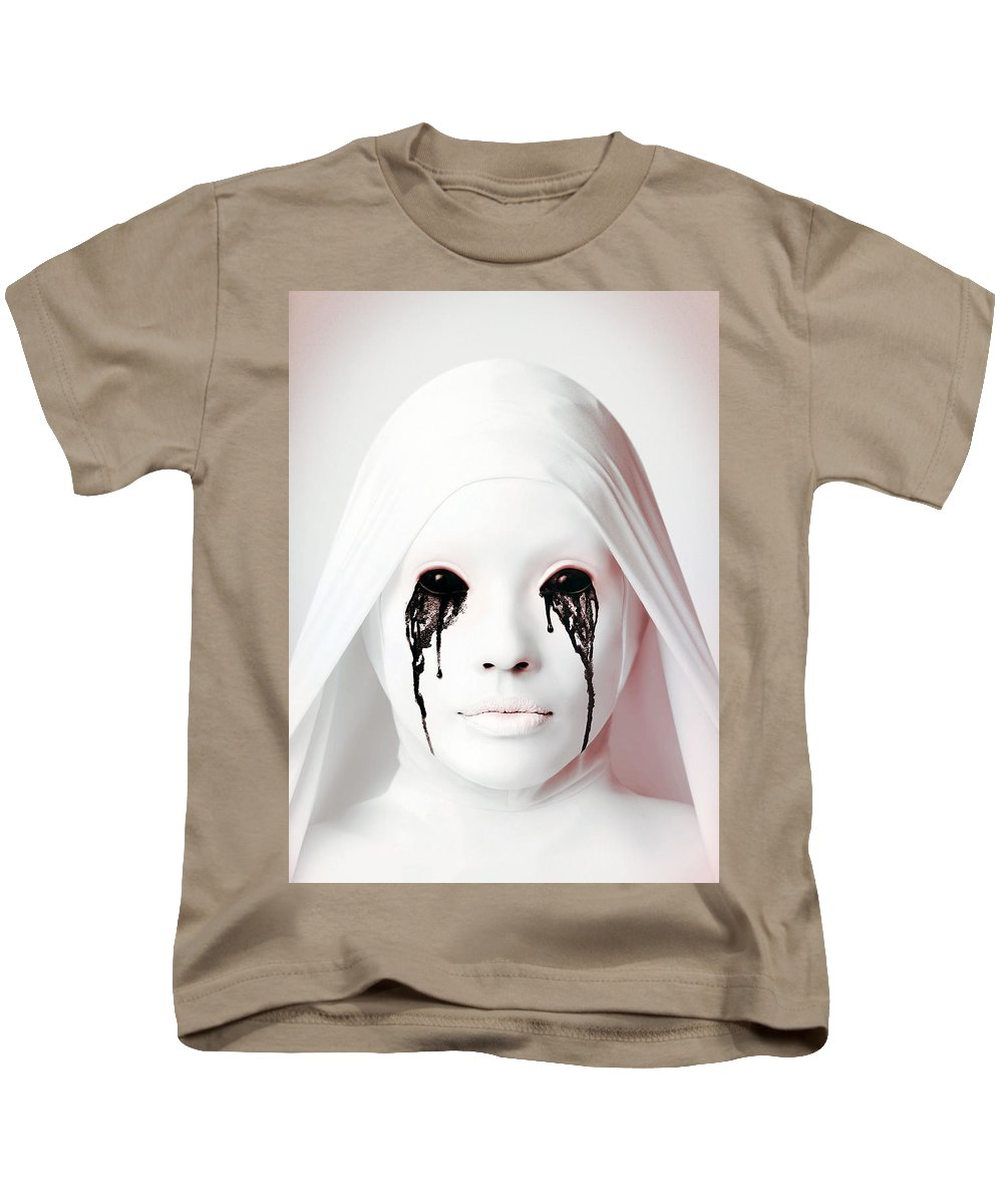 American Horror Story 2011 Kids T-Shirt featuring the digital art American Horror Story 2011 by Geek N Rock