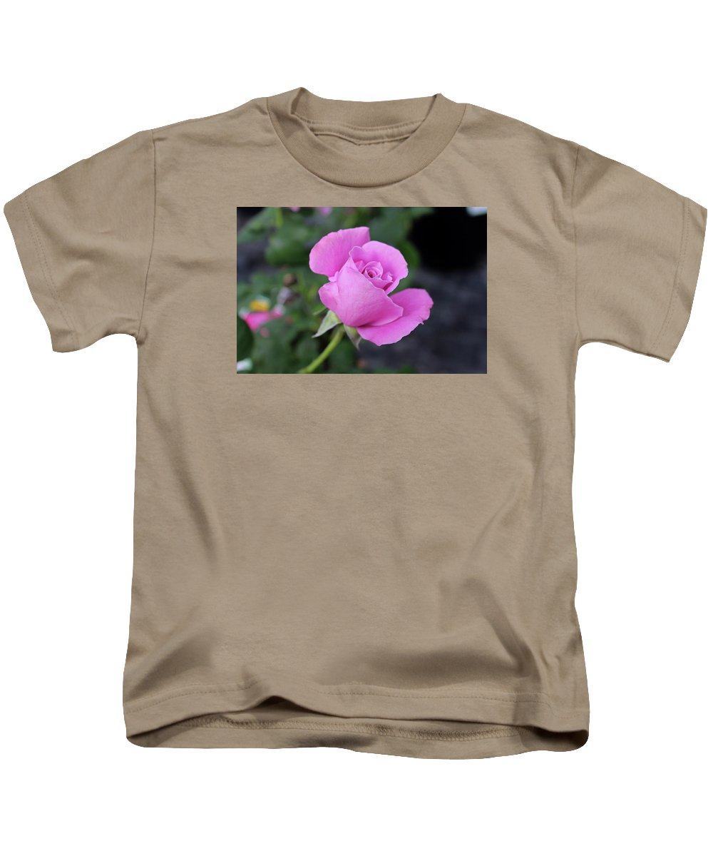 Rose Kids T-Shirt featuring the photograph Angel Face by Michiale Schneider
