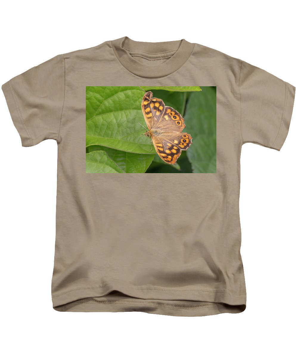 Butterfly Kids T-Shirt featuring the photograph Butterfly by Ernesto Santos