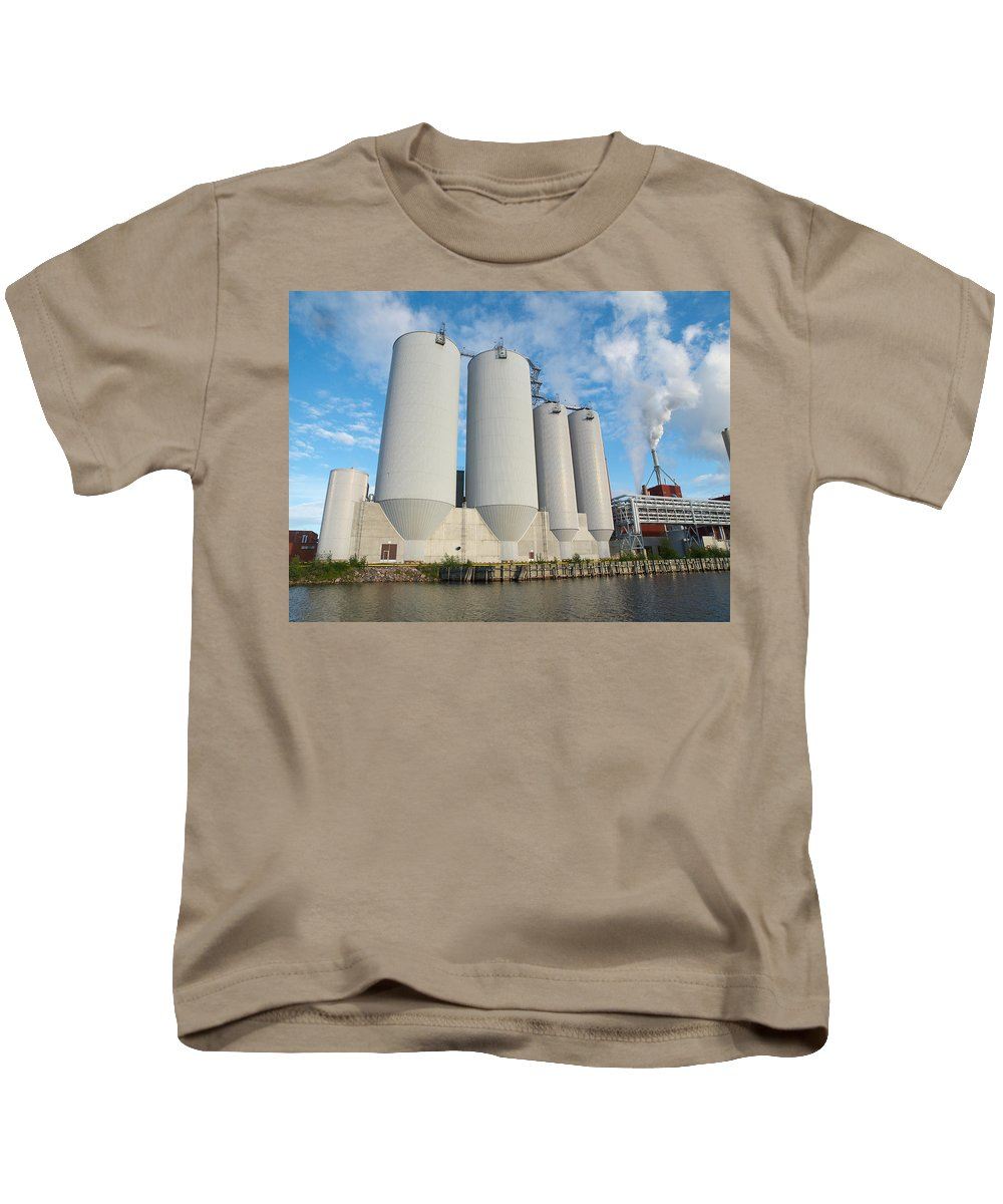 Oulu Kids T-Shirt featuring the photograph Oulu From The Sea 5 by Jouko Lehto