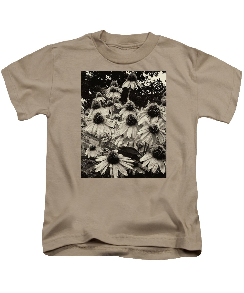 Ann Keisling Kids T-Shirt featuring the photograph The Cones by Ann Keisling