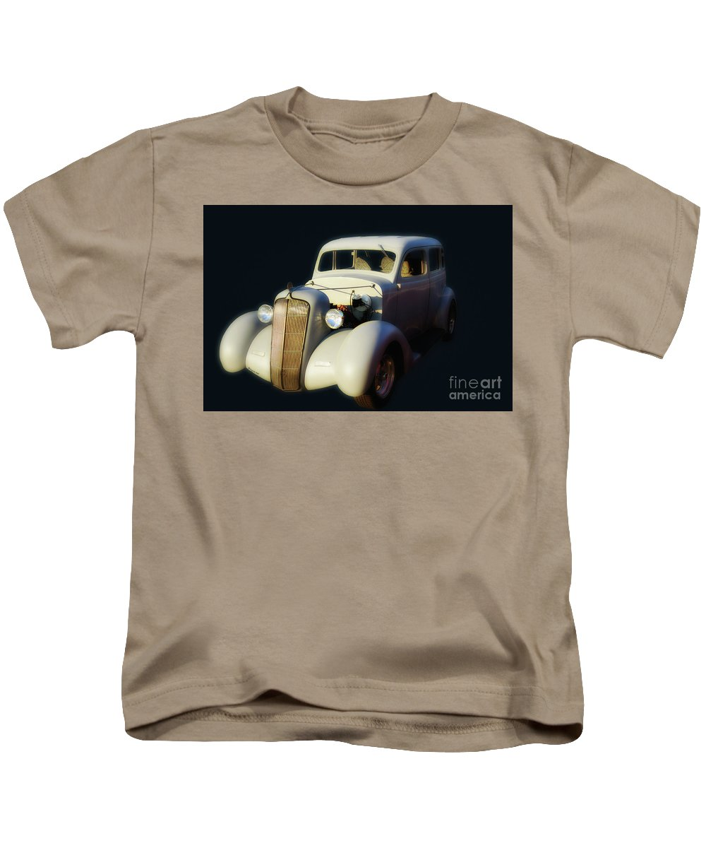 White Kids T-Shirt featuring the photograph White Beauty by Francine Hall