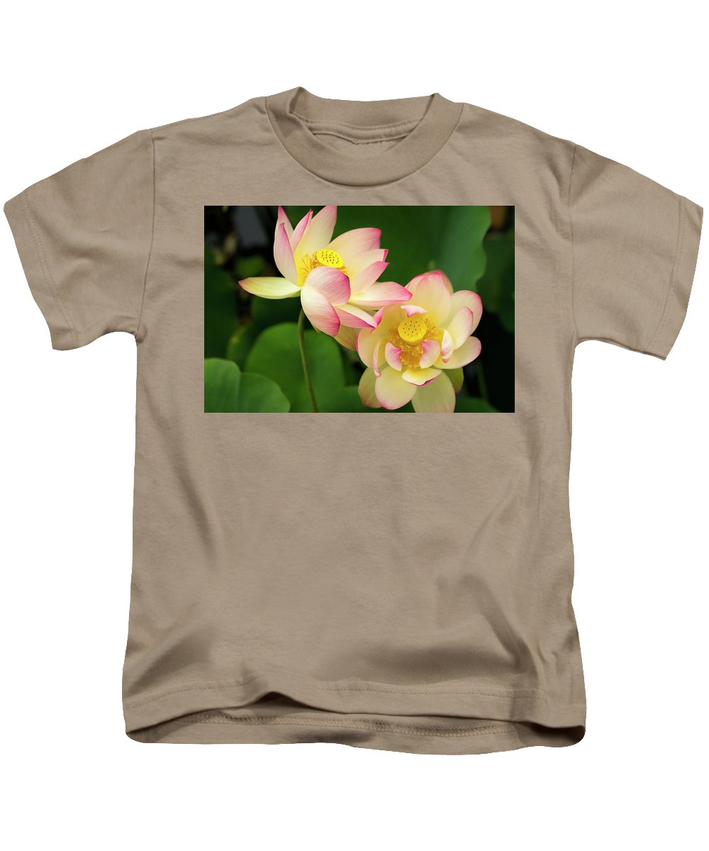 Flower Kids T-Shirt featuring the photograph Lotus Blossom by Michelle Choi