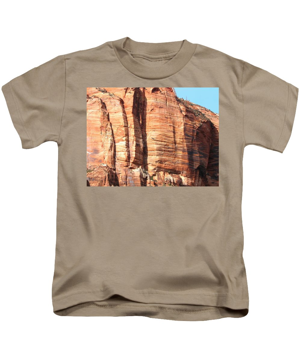 An Eagle Soars Kids T-Shirt featuring the photograph An Eagle Soars by Will Borden