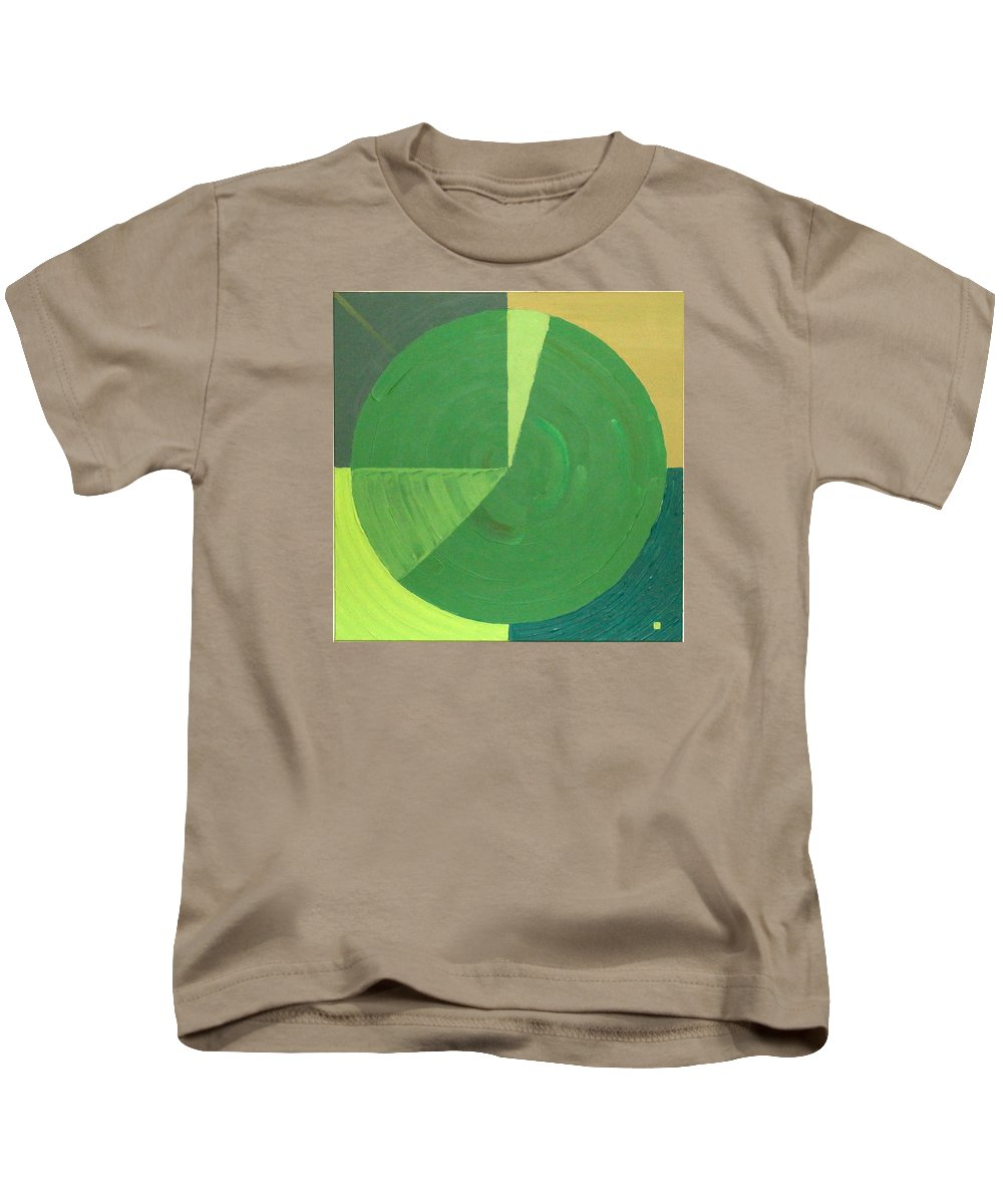 Landscape Kids T-Shirt featuring the painting Aquifer # 9 by Jonathan Perlstein