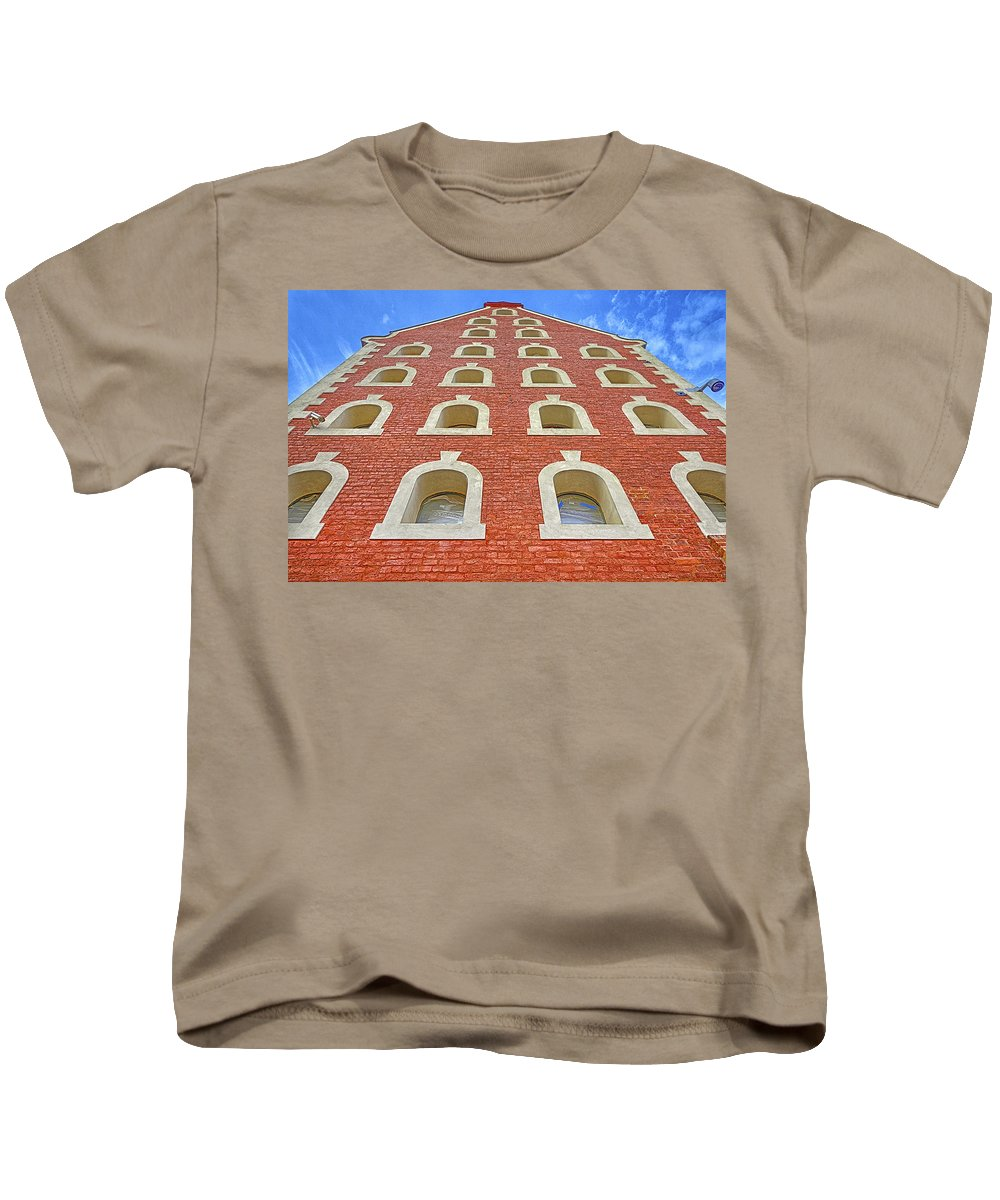 Architecture Kids T-Shirt featuring the photograph Architecture, Windows. by Adriano Bussi