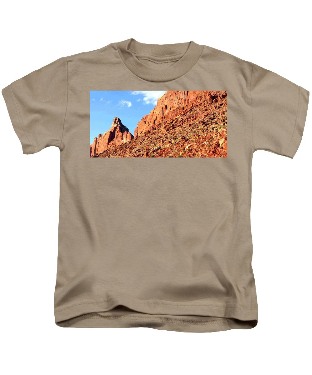 Arizona Kids T-Shirt featuring the photograph Arizona Sandstone by Will Borden